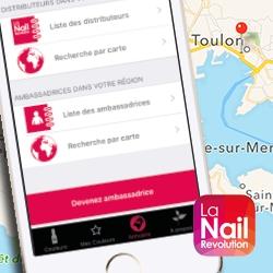 Abonnement de géolocalisation de La Nail Revolution
