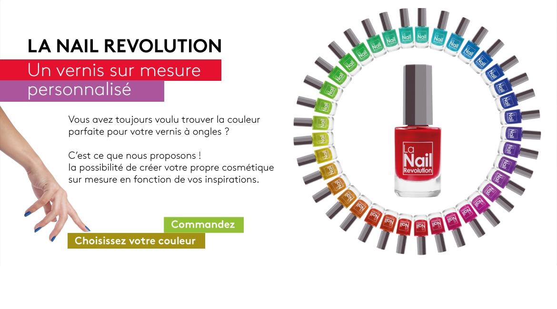 Un vernis à ongles sur mesure personnalisé - La Nail Revolution